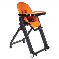 IVOLIA Стул для кормления LEON Orange/Оранжевый ECO-кожа
