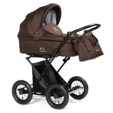 Детская коляска-люлька BEBIZARO CLASSIC BROWN BZCC/01