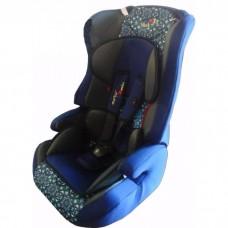 Автокресло Liko Baby LB-513 С, синий/пуговицы