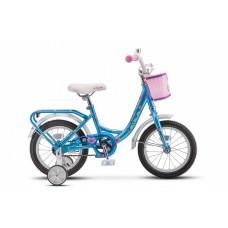 "Велосипед 14"" STELS Flyte Lady (9.5"" Голубой) (LU089090)"