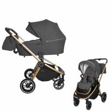 Детская коляска 2 в 1 CARRELLO Epica CRL-8510 Iron Grey