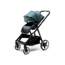DYNASTY оливка, коляска детская складная прогулочная сидячая, с накидкой на ножки, дождевиком
