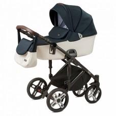 Детская коляска Nuovita Carro Sport 2 в 1 Blu bianco/Сине-белый