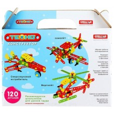 Конструктор Stellar Техно 02028 Самолет
