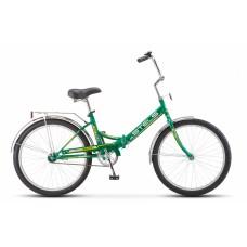 """Велосипед 24"""" STELS Pilot-710 16"""" Зелёный/жёлтый арт.Z010 (LU085350)"""