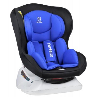 Автокресло детское Farfello GM0921 чёрный/фиолетовый Black/blue GM0921-bp