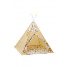 Палатка-вигвам детская Polini kids Жираф, желтый