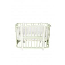 Кроватка детская Incanto Nuvola 3 в 1 цвет фисташковый/белый