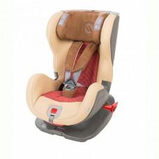 AVIONAUT Удерживающее устройство для детей 9-25 кг GLIDER ROYAL ISOFIX Беж/Т-красный/Кор кожа