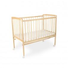 Кровать Golden Baby, цвет натуральный, колесо