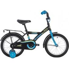 """Велосипед NOVATRACK 14"""" FOREST черный, тормоз нож, крылья, багажник, полная защ.цепи"""