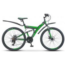 """Велосипед Focus MD 26"""" 21-sp V010 (18"""" Чёрный/зелёный) (LU088523)"""
