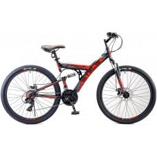 """Велосипед Focus MD 26"""" 21-sp V010 (18"""" Чёрный/красный) (LU088523)"""