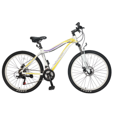 "Велосипед TechTeam Elis 26""х17"" белый"