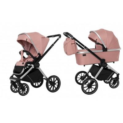 Детская коляска 2 в 1 CARRELLO CRL-6503 Optima Hot Pink