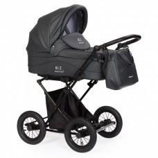 Детская коляска-люлька BEBIZARO CLASSIC GRAPHITE BZCC/11