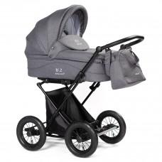 Детская коляска-люлька BEBIZARO CLASSIC GRAY BZCC/06