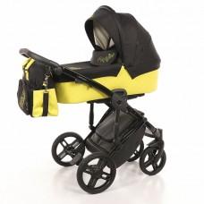 Детская коляска Nuovita Diamante 2 в 1 Giallo / Желтый