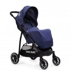 Коляска прогулочная Cool Baby 8703 (DARK-BLUE)