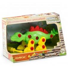 Конструктор Полесье Динозавры 76793 Стегозавр (в коробке)