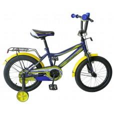 """Велосипед TechTeam Canyon 16"""" синий (сталь)"""