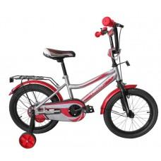"""Велосипед TechTeam Canyon 20"""" серо-красный (сталь)"""