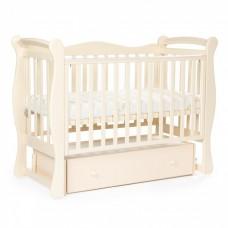 Детская кровать BEBIZARO JAMESON Маятник универсальный с ящиком VANILLA