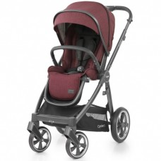 Детская прогулочная коляска Oyster 3 Berry City Grey