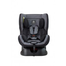 Автокресло детское Farfello GE-B велюр серо-чёрное (dark grey+black)