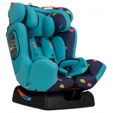 Автокресло детское Farfello Х30 капельки (blue+colorful)