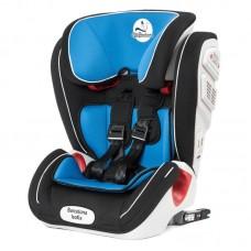 Автомобильное кресло Mr Sandman Barcelona Isofix 9-36 кг Черный/Синий
