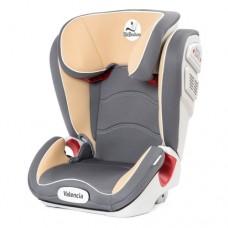 Автомобильное кресло Mr Sandman Valencia 15-36 кг Серый/Бежевый