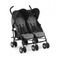 Коляска для двойни Chicco Echo Twin Stroller (Coal)