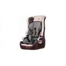 Автокресло Liko Baby LB-513 С, бежевый/коричневый/зебра