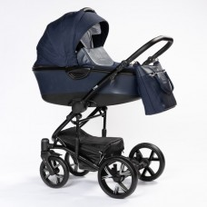 Детская коляска 2 в 1 BEBIZARO CROSS BLUE BZCR/03