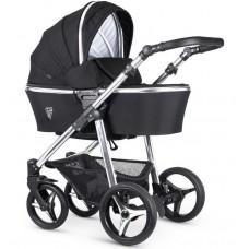 Детская коляска 2 в 1 Venicci Silver Wild Black